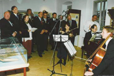 Inaugural concert in the museum